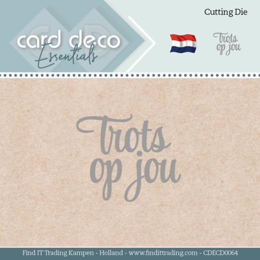 Card Deco Essentials - Dies - Trots op jou