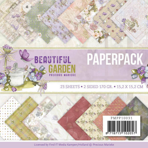 Paperpack - Precious Marieke - Beautiful Garden