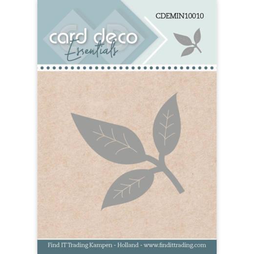 Card Deco Essentials - Mini Dies - Leaf