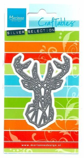 Marianne Design Craftable Geometric Deer (CR1445