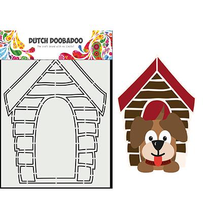Card Art Hondenhok