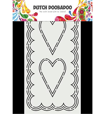 Card Art Slimline Hearts