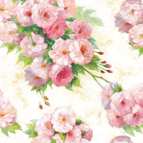 CraftEmotions servetten 5st - Rozen Arianna 33x33cm Ambiente 13307615 (04-21)