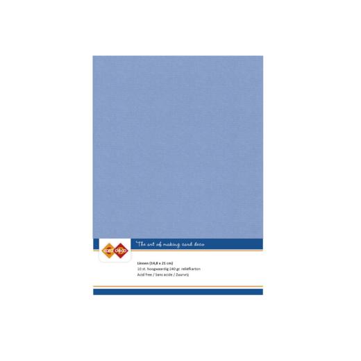 Linen Cardstock - A5 - Stone