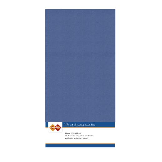 Linen Cardstock - 4K - Jeans