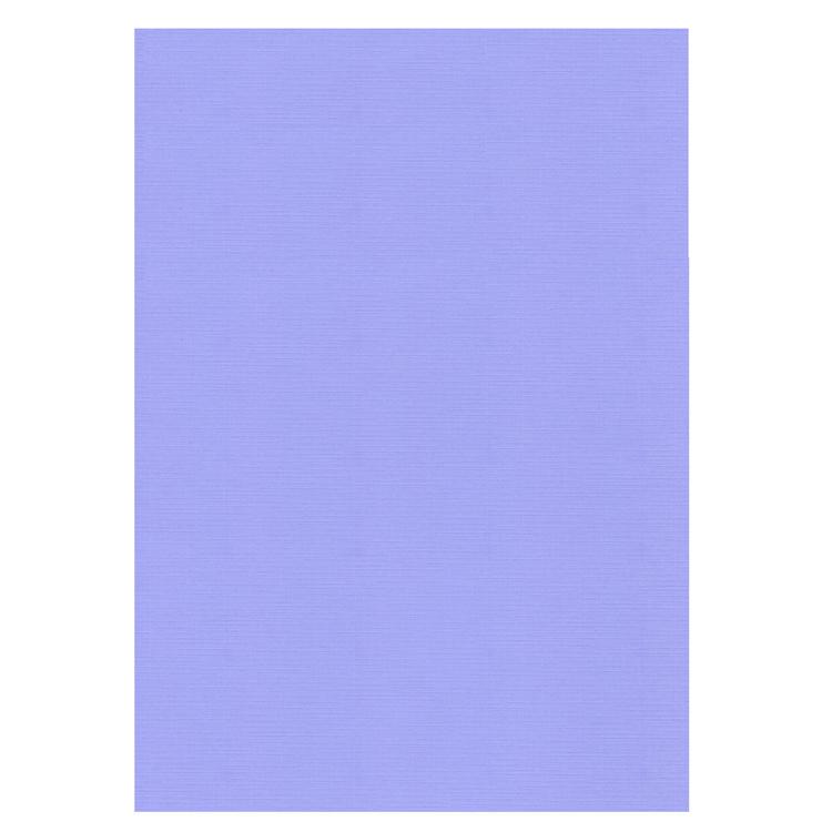 Linen Cardstock - A4 - Lavender