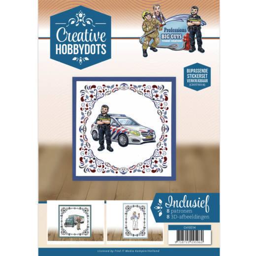 Creative Hobbydots 14 Yvonne Creations - Big Guys - Professions