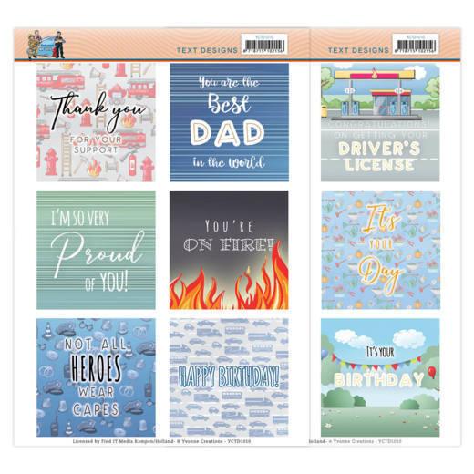 Text Designs - Yvonne Creations - Big Guys Professions (EN)