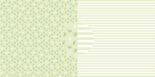 Dini Design Scrappapier 10 vl Appels - strepen 30,5x30,5cm #4017 (05-21)