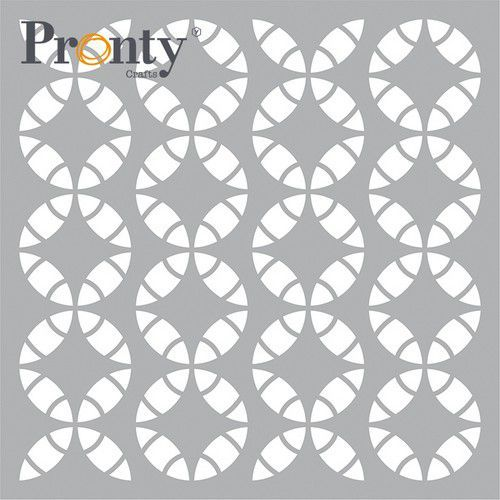Pronty Mask stencil Retro Pattern 470.801.056 15x15cm (05-21)