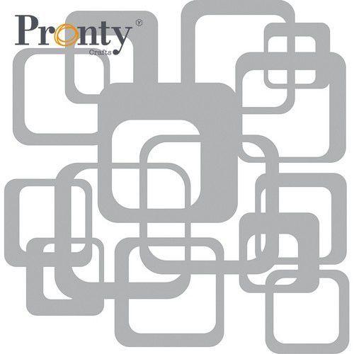 Pronty Mask stencil Retro Pattern Vierkanten 470.801.058 15x15cm (05-21)