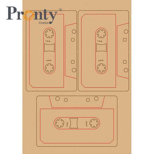 Pronty MDF Retro Cassette bandjes 465.643.034 A5 (05-21)