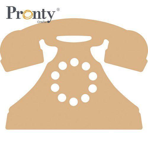 Pronty MDF Retro Telefoon 460.416.090 210x158mm (05-21)