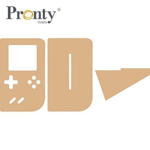 Pronty MDF Game Computer 460.407.130 90x146mm (05-21)