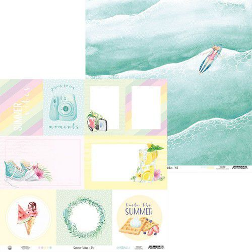 Piatek13 - Paper Summer vibes 05 P13-VIB-05 12x12 (05-21)