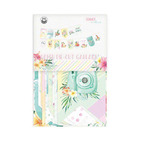 Piatek13 - Paper die cut garland Summer vibes P13-VIB-32 10x15cm (05-21)
