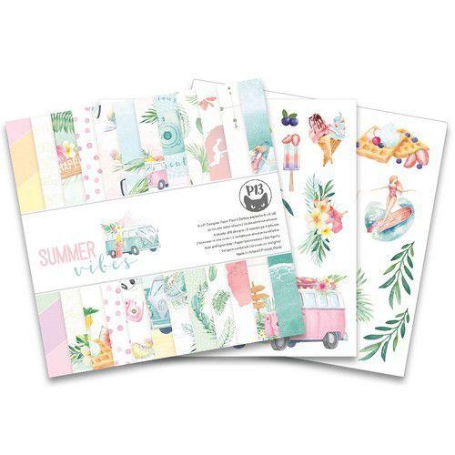 Piatek13 - Paper pad Summer vibes, 6x6'' P13-VIB-09 (05-21)