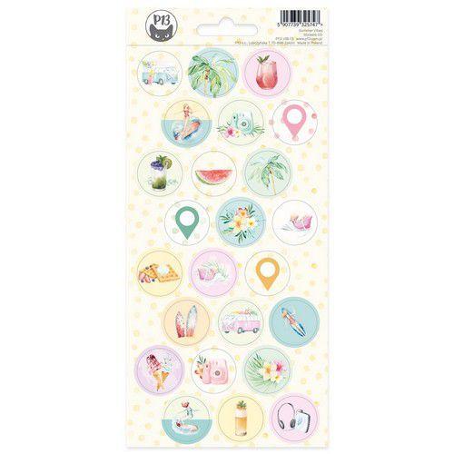 Piatek13 - Sticker sheet Summer vibes 03 P13-VIB-13 10,5x23cm (05-21)