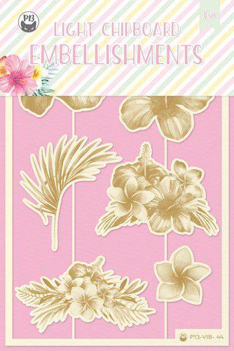 Piatek13 - Chipboard embellishments Summer vibes 01 P13-VIB-44 10x15cm (05-21)