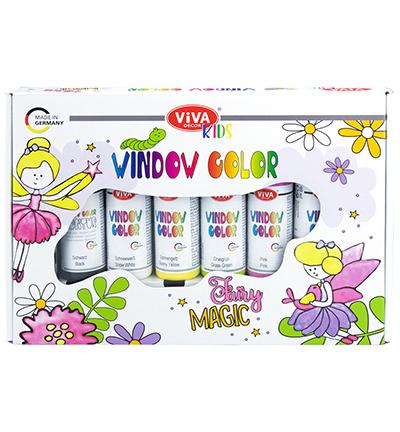 Window Color Set Kids, Fairy Magic