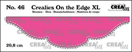 Crealies On the edge XL Die stans no 46 CLOTEXL46 20,8cm (05-21)