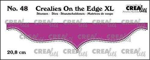 Crealies On the edge XL Die stans no 48 CLOTEXL48 20,8cm (05-21)