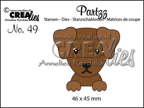 Crealies Partzz Hond CLPartzz49 46x45mm (05-21)