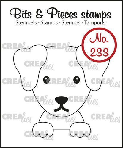 Crealies Clearstamp Bits & Pieces Hond CLBP233 43x42mm (05-21)
