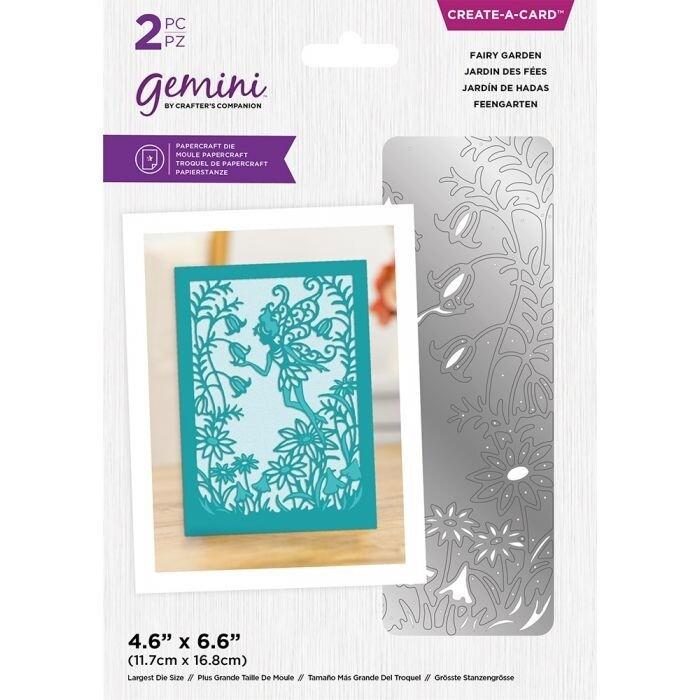 Gemini - Delicate Create A Card snijmal - Fairy Garden