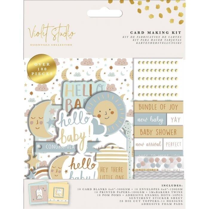 Violet Studio - Card Making Kit - Baby