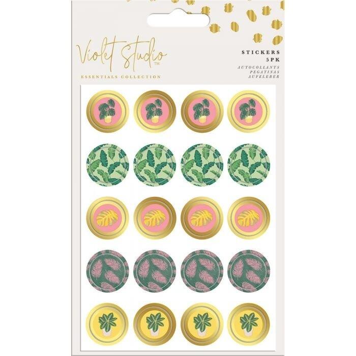 Violet Studio - Mini Stickers - Tropical - 100pcs