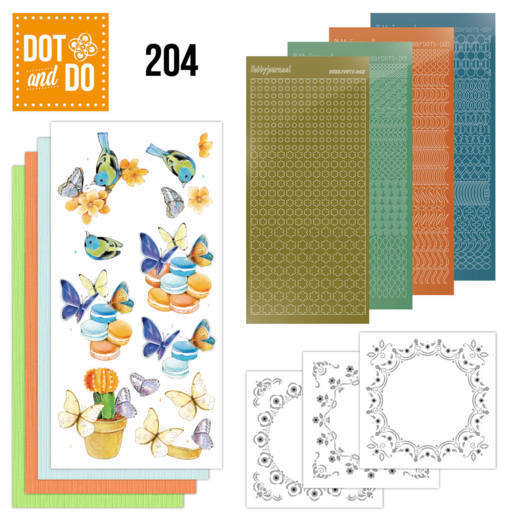 Dot and Do 204 - Jeanine's Art - Butterfly Touch