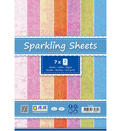 Sparkling Sheets A5, Assorti