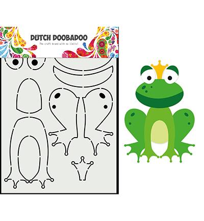 Card Art Built up Kikker