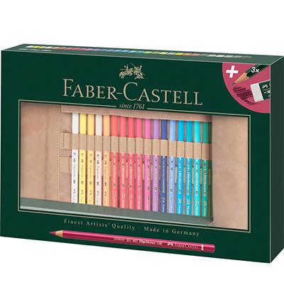 Roletui Faber-Castell Polychromos potloden