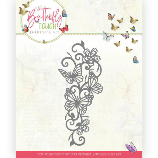 Dies - Jeanine's Art - Butterfly Touch - Butterfly Border