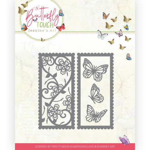 Dies - Jeanine's Art - Butterfly Touch - Butterfly mix and match