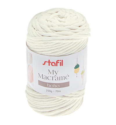 Macrame Boho, Cream