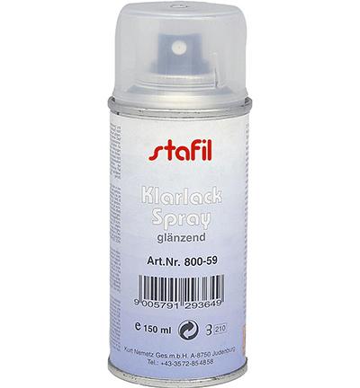 Klarlack Spray, Glanzend