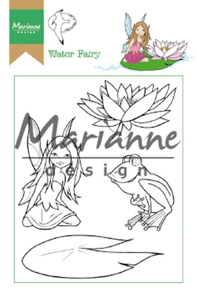 Ht1646 Clear stamp Hetty's Water Fairy