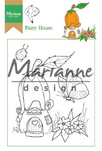 Marianne D Clear Stamp Hetty's Fairy house HT1641
