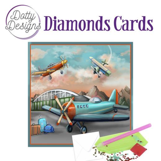 Dotty Designs Diamond Cards - Planes