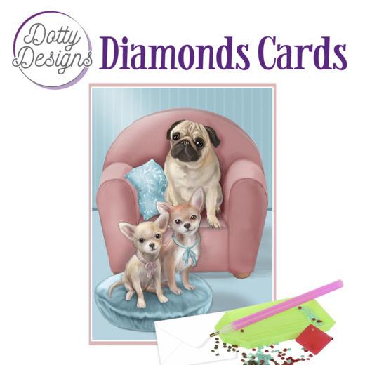 Dotty Designs Diamond Cards - Dogs