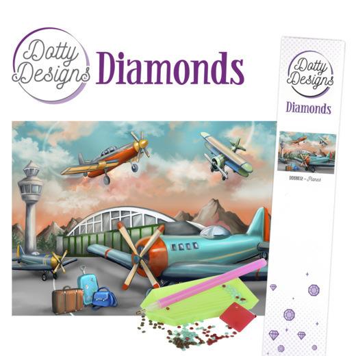 Dotty Designs Diamonds - Planes