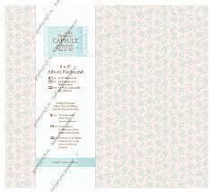 """8 x 8"""" Album Postbound (10 Page Protectors) - Capsule Collection  eau de nil"""