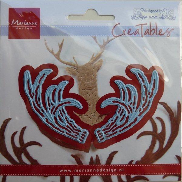 Marianne Design - Die - CreaTables - Anja's antlers - LR0563