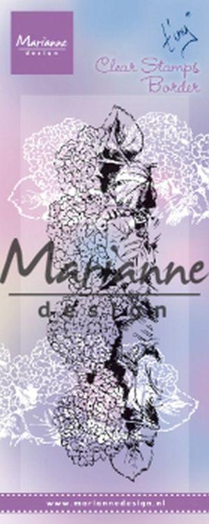 Marianne Design Tiny's Border Hydrangea Clear Stamp (TC0871)