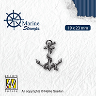 VCS004 Clear stamps maritime Anchor