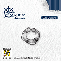 VCS003 Clear stamps maritime Lifebuoy
