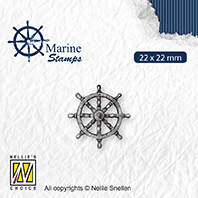 VCS002 Clear stamps maritime Rudder